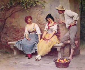 800px-Eugen_de_Blaas_The_Flirtation